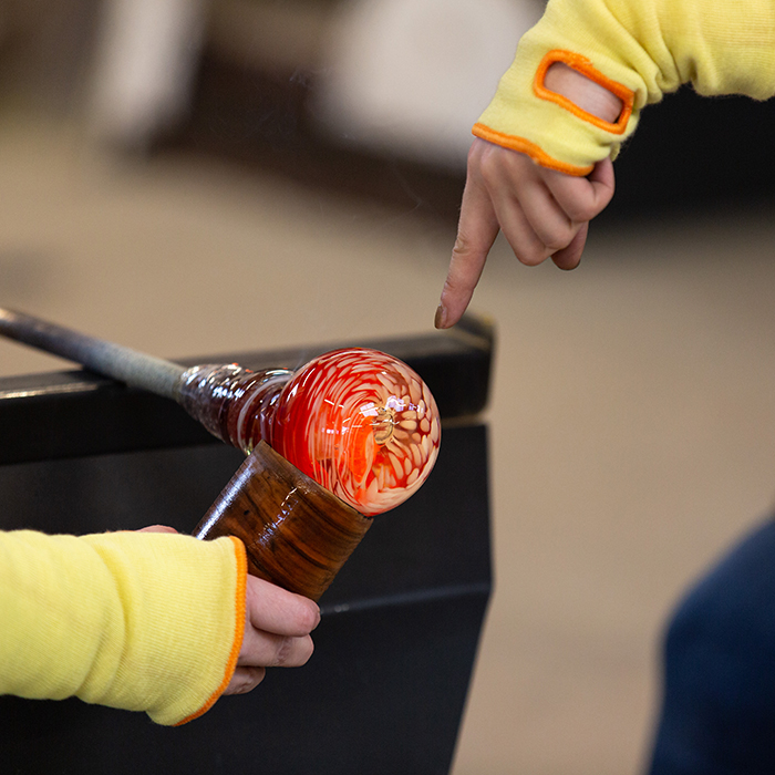 Half Day Glass Blowing Experience