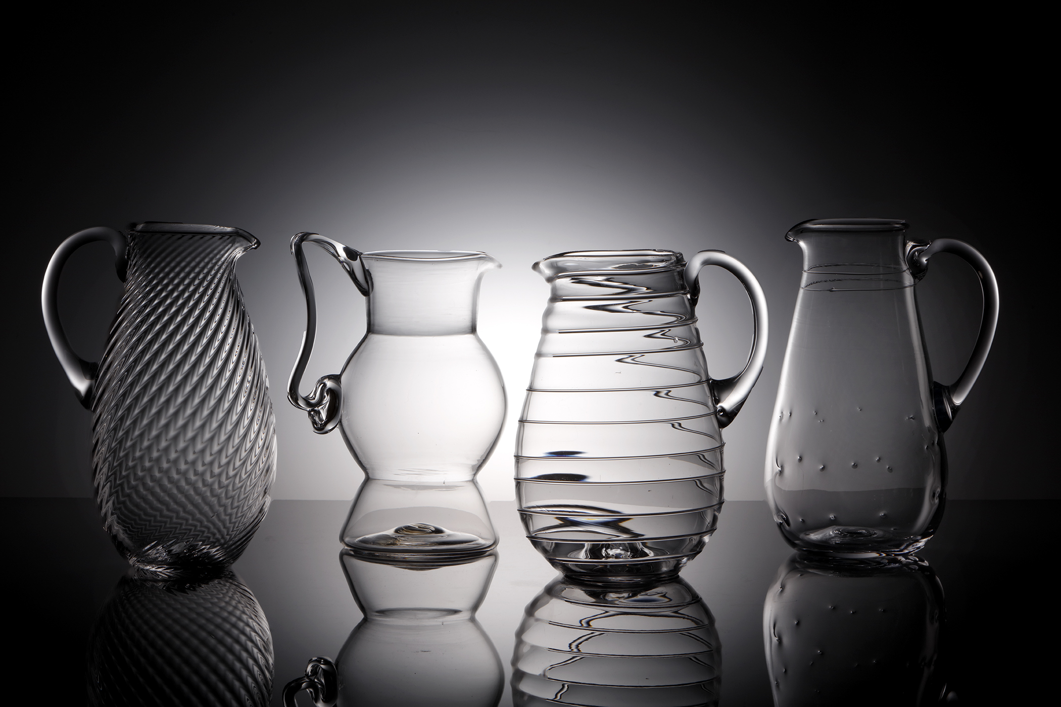 Jug and Glass Set – Dimpled